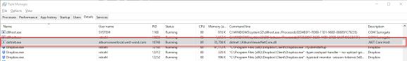 asp net core in process hosting on iis
