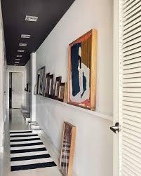 hallway art ideas - apartment therapy