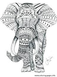 Vector Art Baby Elephant Coloring Page Vector Art Baby Elephant
