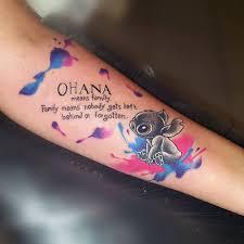 Ohana Tattoo Als Symbol Für Familie Und Freundschaft 40 Motiv Ideen