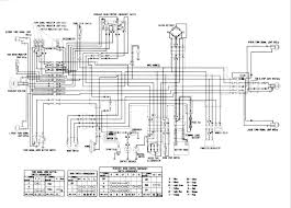 honda xr 125 engine diagram honda wiring diagrams