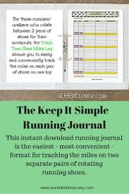 17 best ideas about run log running running able running journal running log walking log track 2 shoe miles monthly log exercise journal track my miles