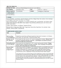 meeting minutes template free templates 8 sle exle format outline via email m minute with acti