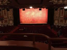Cadillac Palace Theatre Chicago Illinois Seating Chart Cadillac Palace Theater Section Dress Circle C