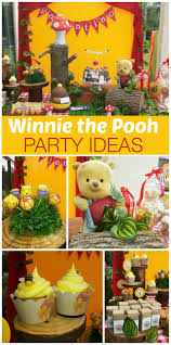 Beehive cupcakes and cute cake pops at found at this adorable Winnie the  Pooh birthday party