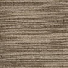 kenneth james taisen brown grasscloth wallpaper