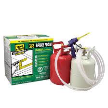 polyurethane insulation spray