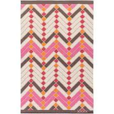 labin bright pink 8 ft x 10 ft indoor area rug