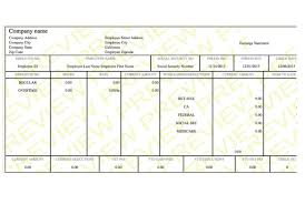 paycheck stub sample free neat paystub paycheck template paycheck stub online