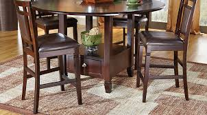 dining room chairs counter height. landon chocolate 5 pc counter height dining set room chairs