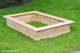 how to make a box garden. Fine How How To Make A Garden Box  Onelittleprojectcom And To Make A Box Garden O