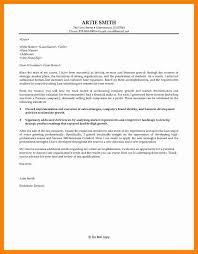 9 Business Development Cover Letter Letter Signature