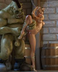 orc fucks a taut slave girl