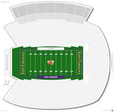 Carolina Stadium Seating Chart Dowdy Ficklen Stadium East Carolina Seating Guide
