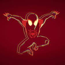 Minimalist Spiderman Wallpaper 4k