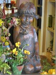 children garden statues. Garden Statues Children