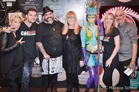 muas jerod detox roque cozzette body painting for cmc makeup at the makeup show