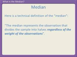 What Is The Median