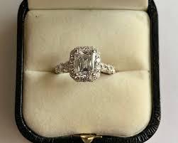 Christopher Designs Ring Christopher Designs Crisscut Emerald Enagagement Ring