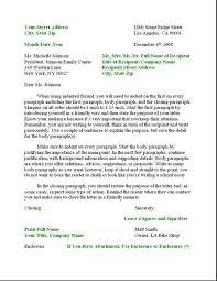Business Letter Format Formal Writing Sample Template La Pegitboard