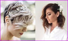 Frais Coiffure Femme Cheveux Courts Pour Mariage Photos De