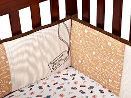 paddington bear crib bedding by trend lab per pads