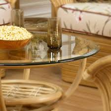 details about clear round glass table top 24 36 42 48 bevel edge 3 8 pick up only no ship
