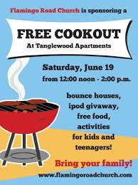 Cookout Flyer Design Magdalene Project Org