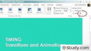 Powerpoint Animations How To Set The Timing Of Your Powerpoint Transitions And Animations