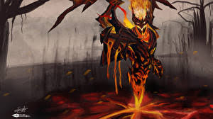 shadow fiend wallpaper 12 images pictures download