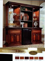home back bar furniture. the vigo back bar is 86 inches in length and can accommodate a refrigerator or home theater equipment available 5 finishes english tudor home back bar furniture c
