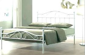 wrought iron bed frame king – greetail