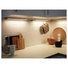 Ikea Kitchen Lights Under Cabinet Uk Utrusta Led Worktop Lighting W Power Supply Aluminium Colour
