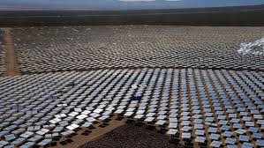 first electric generator. Beautiful Electric First Electric Generator Of Its Kind A Field Mirrors At The Ivanpah  Power Plant In California The Took Almost Intended First Electric Generator
