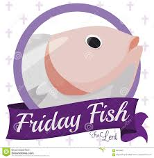 Tim Fish Design Round Button With Fish Design For Traditional Friday In Lent