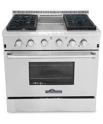 stove natural gas. thor 36 inch range with griddle stove natural gas