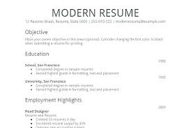 Simple Resumes Templates Unique Example Of Simple Resume Format Blank Resume Templates Free Samples
