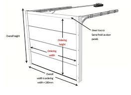 industrial garage door dimensions. Latest Standard Garage Door Size Ward Log Homes With Size. Industrial Dimensions