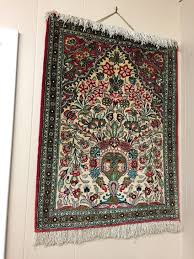 silk rug touch to zoom