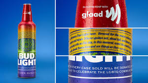 Bud Light Rainbow Cans Heres Where To Get Rainbow Bud Light Glaad Bottles To Show