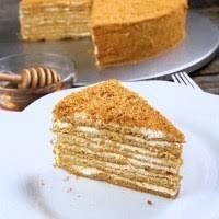 Russian Store CopyCat Honey Cake Recipe Medovik