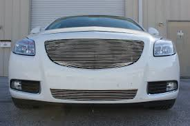2013 Buick Regal 1Pc Upper Replacement Billet Grille Kit