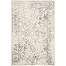 safavieh adirondack ivory silver 9 ft x 12 ft area rug