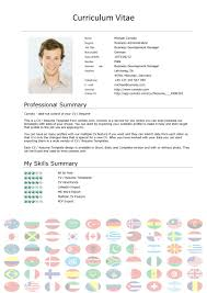 Curriculum Vitae Cv Format Download An Example Of Curriculum Vitae As Well A Template With Format Plus