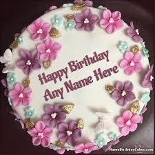 Generate Photo Birthday Cake With Name Online