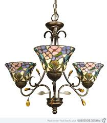 15 unique design of stained glass chandelier home lover