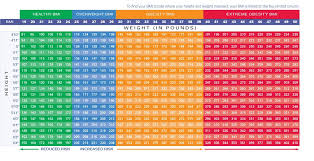 Obese Bmi Chart Weight Loss Trimtuf