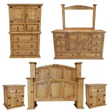 Rustic Mansion Bedroom Set Rustic Bedroom Set