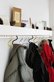 Hang Coat Rack Brilliant Beautiful 100 New Ways to Hang Coat Hooks Coat hooks 45