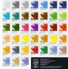 Fw Inks Colour Chart Fw Liquid Acrylic Ink Information Hints And Tips